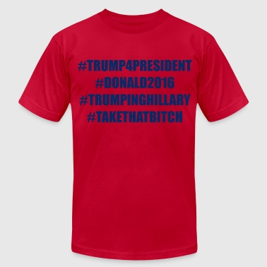 Donald Trump 4 President - Men's Fine Jersey T-Shirt
