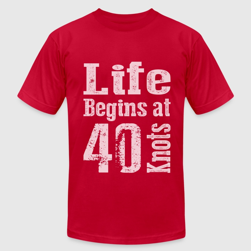 Life Begins at 40  - Men's Fine Jersey T-Shirt