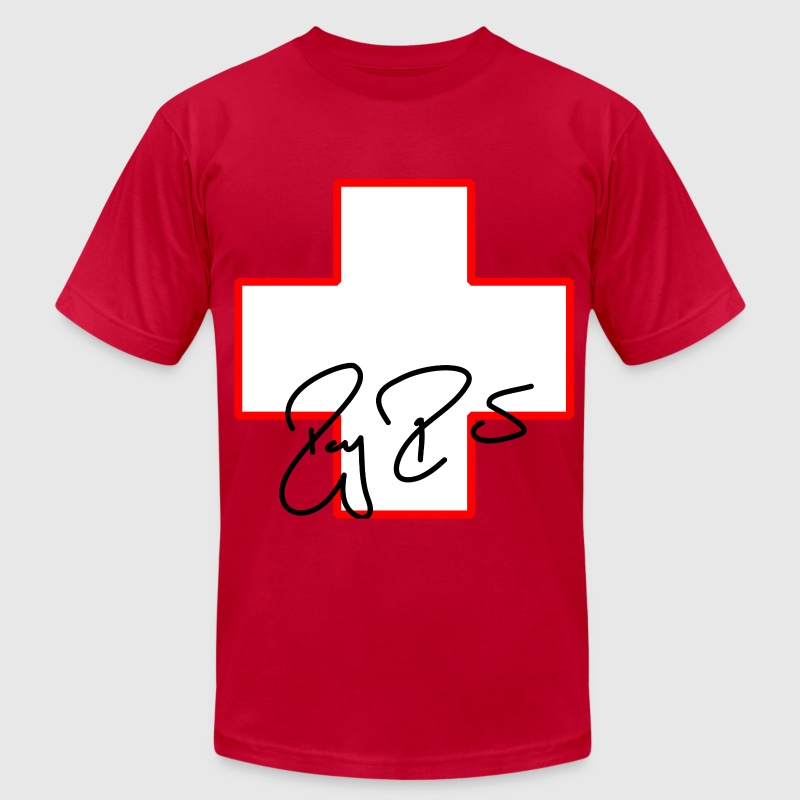 swiss RF - Men's Fine Jersey T-Shirt