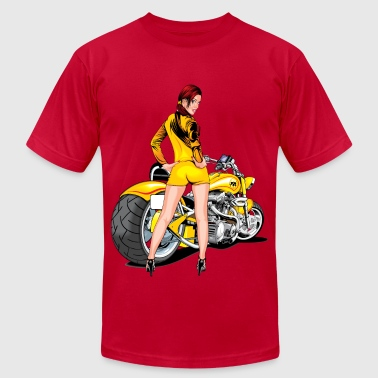 Motorcycle - Men's Fine Jersey T-Shirt