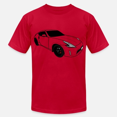 Nissan 370z Fast Car - Men's Jersey T-Shirt