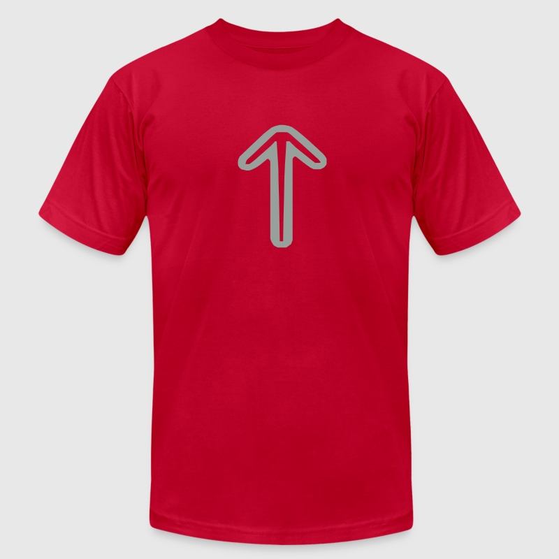viking tiwaz rune - Men's Fine Jersey T-Shirt