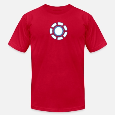 Iron Man Arc Reactor Arc reactor - Men's  Jersey T-Shirt