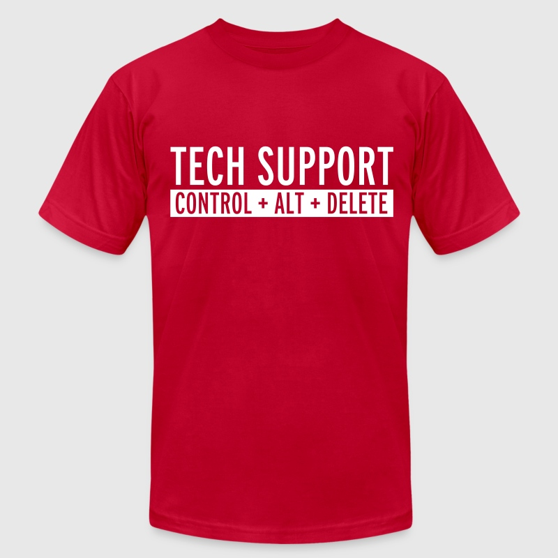 Tech Support  - Men's Fine Jersey T-Shirt