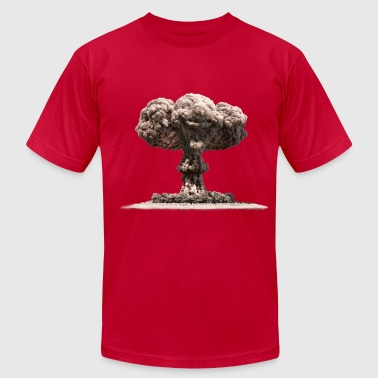 Ground Zero Nuclear Explosion - Men's Fine Jersey T-Shirt