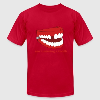 Hangover Missing Tooth - Men's Fine Jersey T-Shirt