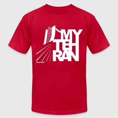 My Tehran - Men's Fine Jersey T-Shirt