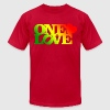 One Love Rasta - Men's Fine Jersey T-Shirt
