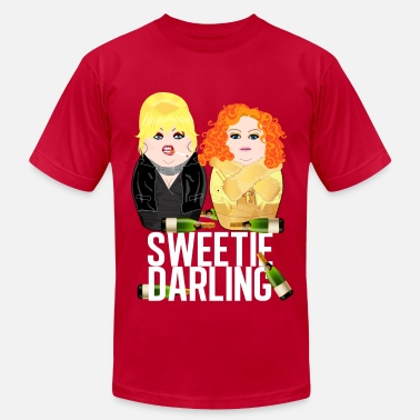 Abfab Sweetie Darling white / Fabulous Realness 2.0 - Men's Jersey T-Shirt