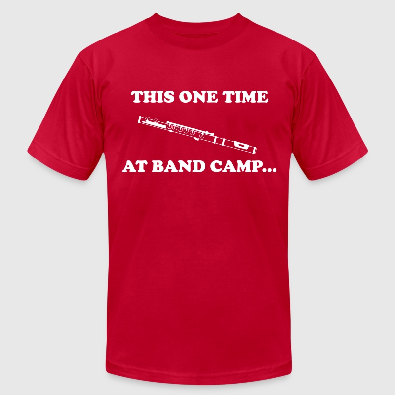 This One Time At Band Camp... - Men's Fine Jersey T-Shirt