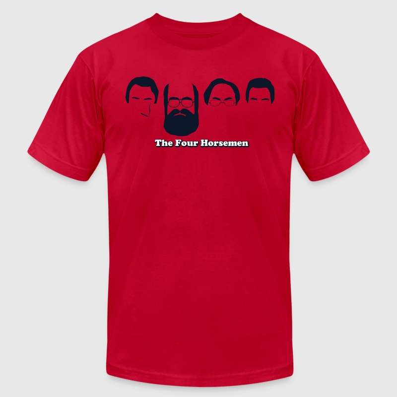 The Four Horsemen - Men's Fine Jersey T-Shirt
