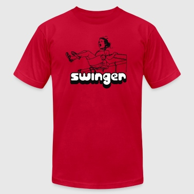 Swinger Funny Swinger - Men's Fine Jersey T-Shirt
