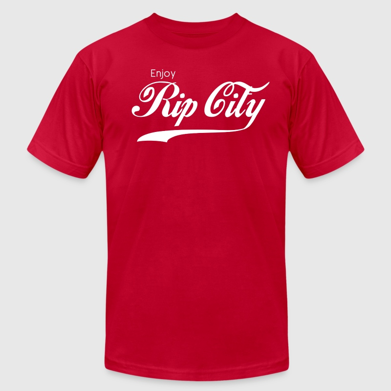 Enjoy Rip City - Men's Fine Jersey T-Shirt