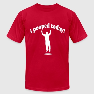 Pooping Gross I Pooped Today! - Men's Fine Jersey T-Shirt