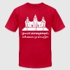 Angkor Wat / Khmer / Cambodian Flag with Motto - Men's Fine Jersey T-Shirt