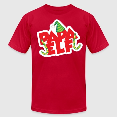 Elf Papa Elf - Men's Fine Jersey T-Shirt