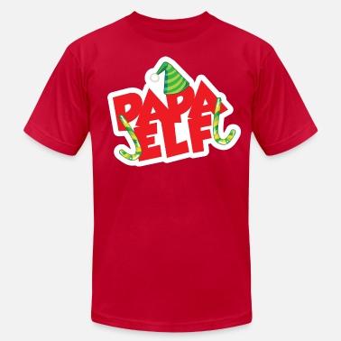 c7574ec4 Elf Papa Elf - Men's Jersey T-Shirt