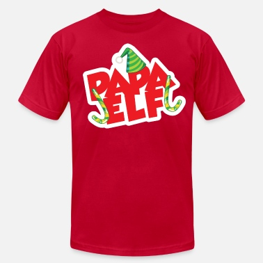 Elf Papa Elf - Men's  Jersey T-Shirt