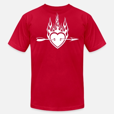 Valentine - Men's  Jersey T-Shirt