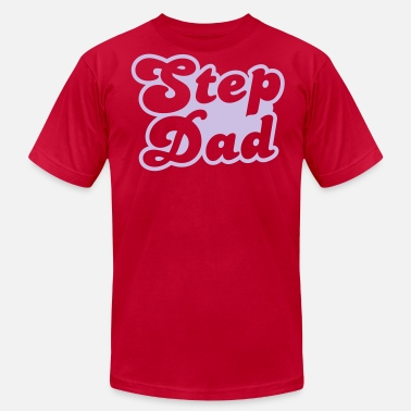 Step Dad Funny STEP DAD - Men's  Jersey T-Shirt