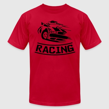 racing - Men's Fine Jersey T-Shirt
