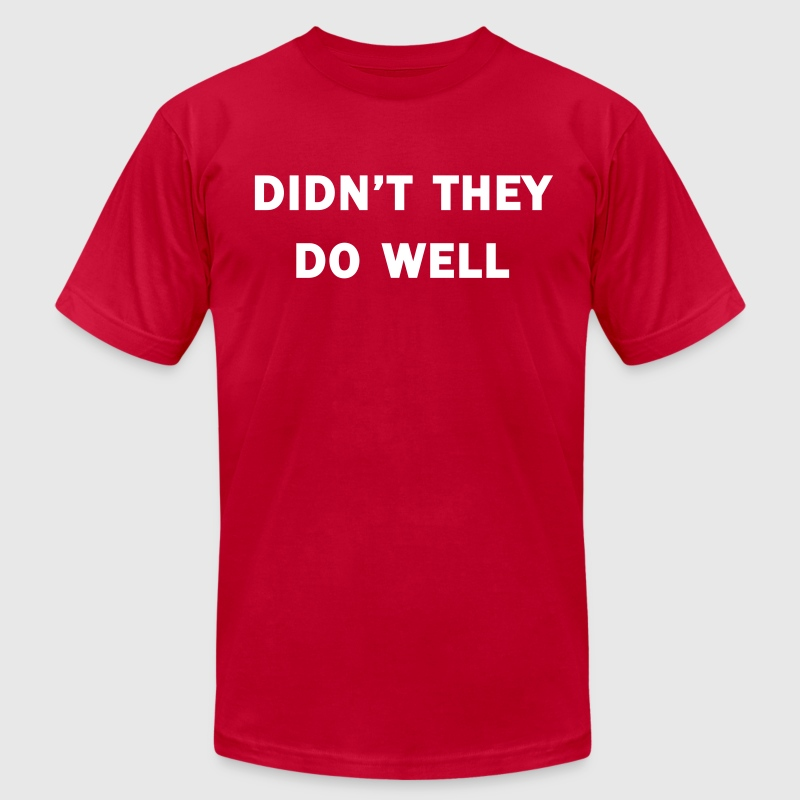 Didn't they do well?  -  The Generation Game - Men's Fine Jersey T-Shirt