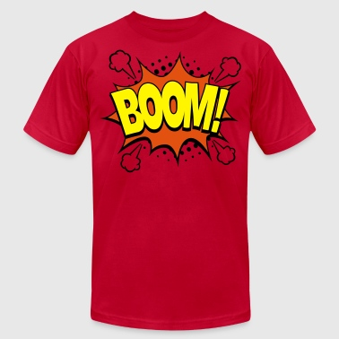 Comic Boom! - Men's Fine Jersey T-Shirt