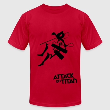Attack on titan - Men's Fine Jersey T-Shirt