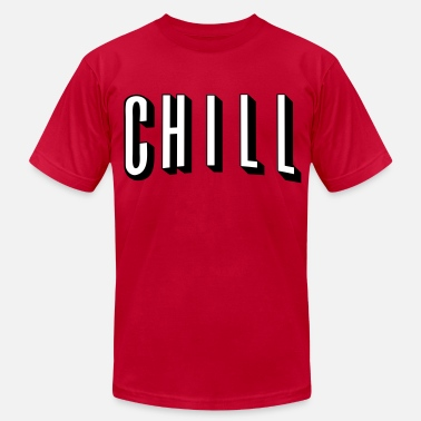 Wild N Out NETFLIX AND CHILL - Men's Fine Jersey T-Shirt