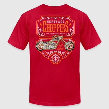 Heritage Choppers - Men's Fine Jersey T-Shirt