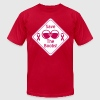 Save the Boobs Sign - Men's Fine Jersey T-Shirt