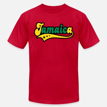 Jamaica Kids jamaica - Men's  Jersey T-Shirt