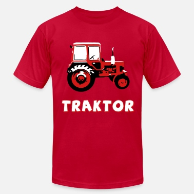 East Village Traktor MTZ - Men's Jersey T-Shirt
