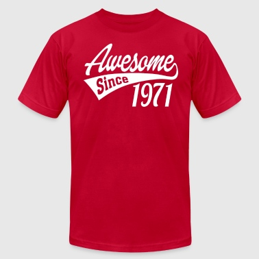 Awesome Since 1971 - Men's Fine Jersey T-Shirt