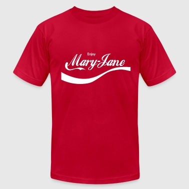 ENJOY MARY JANE - Men's Fine Jersey T-Shirt