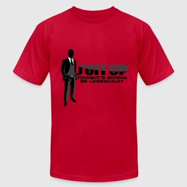 Suit Up Barney Met Mother - Men's Fine Jersey T-Shirt