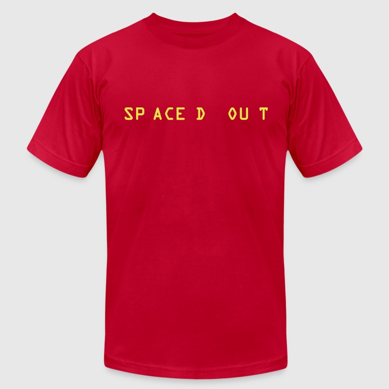 Spaced Out - Men's Fine Jersey T-Shirt