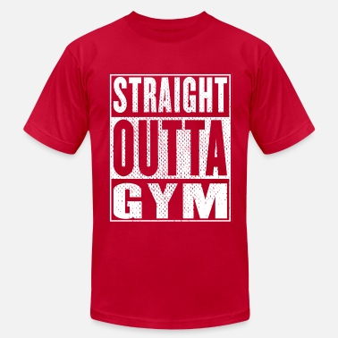 Straight Outta The Gym Straight Outta Gym Vintage - Men's Jersey T-Shirt