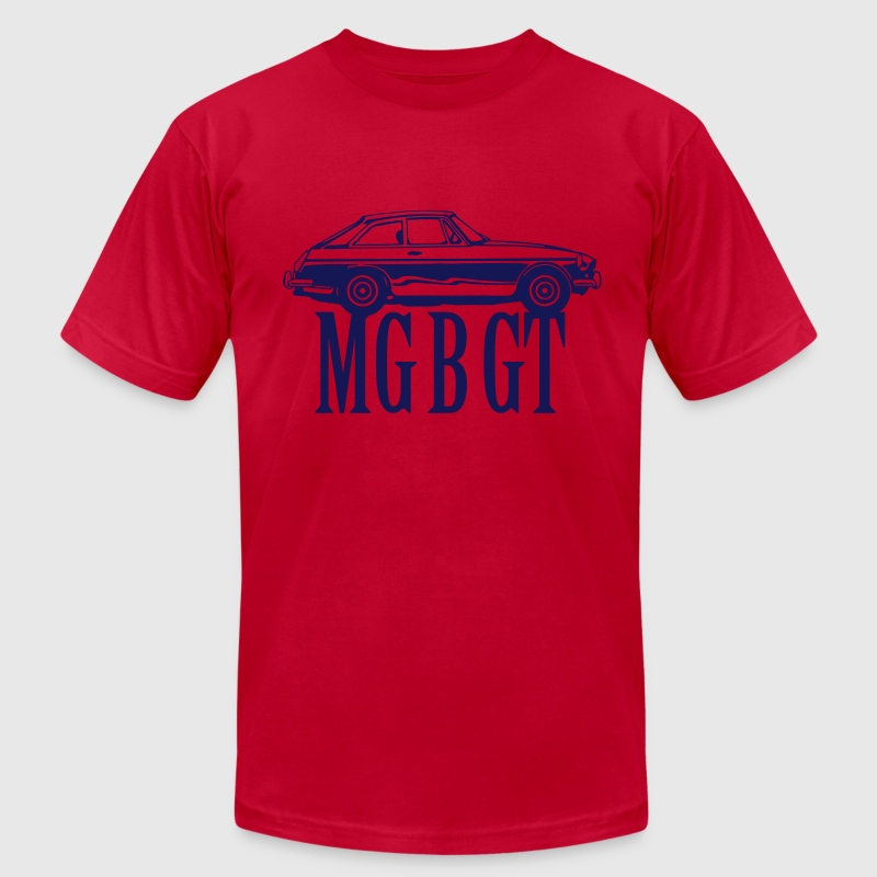 MG MGB GT - Men's Fine Jersey T-Shirt
