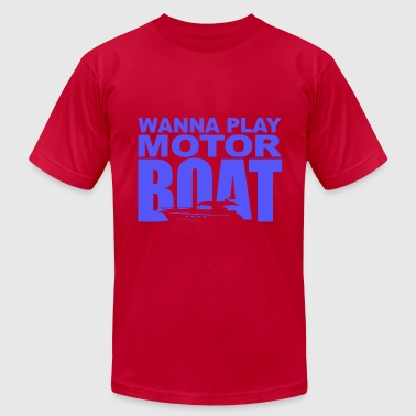 Wedding Crashers Motor Boatin - Men's Fine Jersey T-Shirt