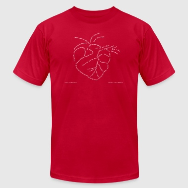 If I only had a Heart  - Men's Fine Jersey T-Shirt