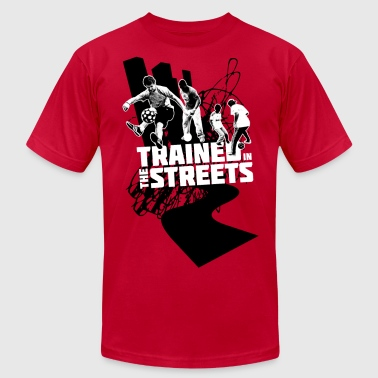 Trained in the Streets - Men's Fine Jersey T-Shirt