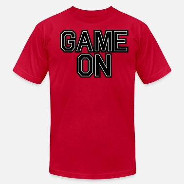 Frat Boys GAME ON frat boy  - Men's Fine Jersey T-Shirt
