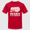 Bernie Sanders is my comrade - Men's Fine Jersey T-Shirt