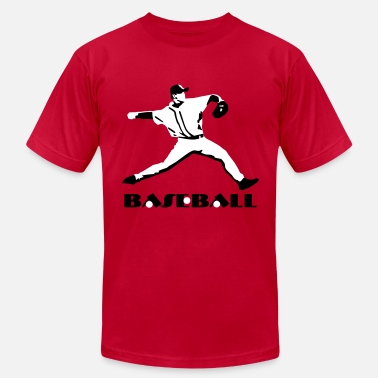 Pitcher Baseball - Baseball Player - Men's  Jersey T-Shirt