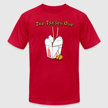 Chinese Takeout The Tsosen One - Men's Fine Jersey T-Shirt