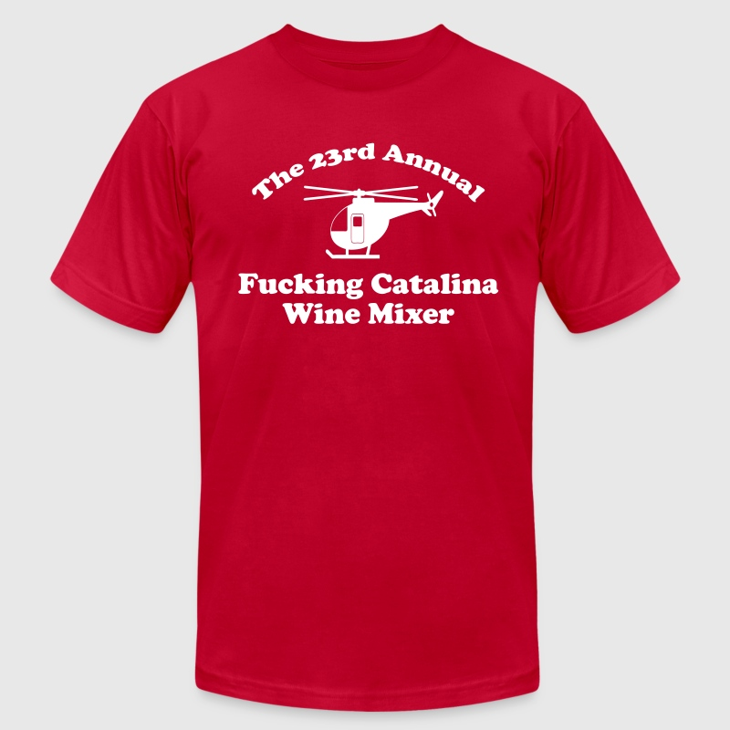 Catalina Wine Mixer - Men's Fine Jersey T-Shirt