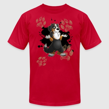 Muddy Paws - Men's Fine Jersey T-Shirt