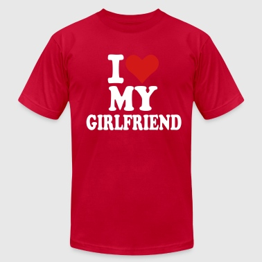 For A Girlfriend Girlfriend - Men's Fine Jersey T-Shirt