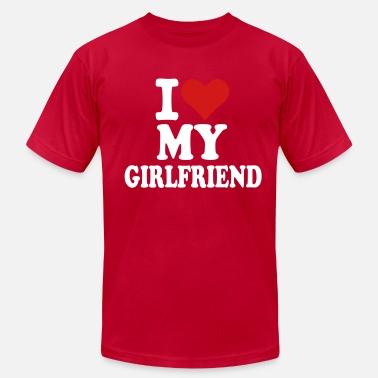 For A Girlfriend Girlfriend - Men's  Jersey T-Shirt